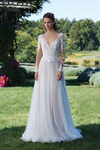 Wedding Dresses Without Sleeves