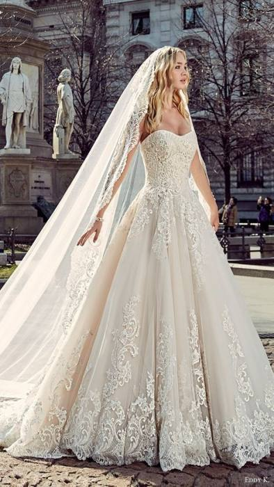2014 Vintage Bateau A Line Chapel Train Wedding Dresses Sheer Lace  Appliques Cover Button Bridal Gowns Long Sleeves Wedding Gown BO3875, $141