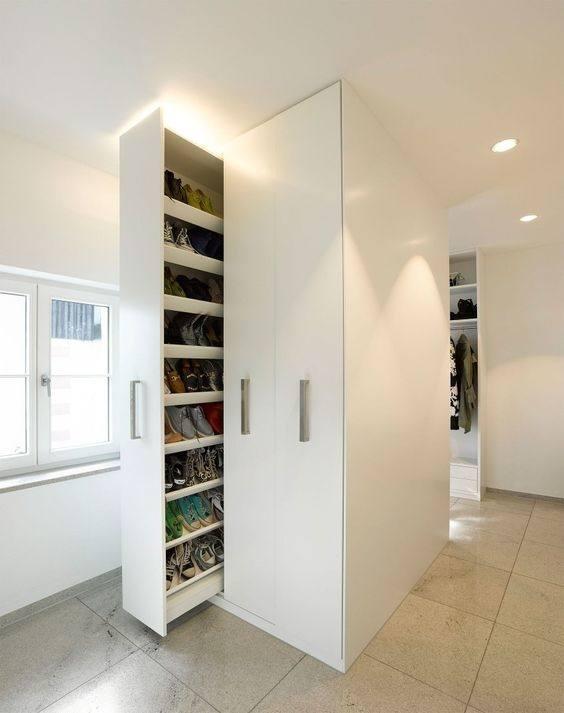 com: SANA Enterprises a Shoe Rack/Organizer, Go Vertical Save Space,  Foldable on Wheels: Home & Kitchen