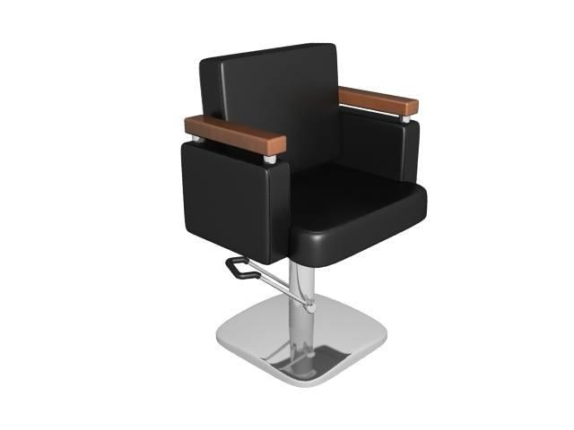 salon styling chair 3d model max obj mtl c4d lwo lw lws ma mb 3