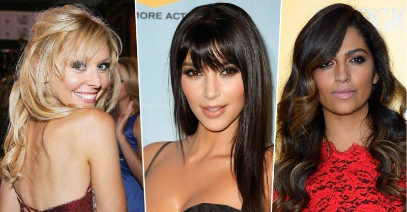 Hair styles with bangs are popular among women of all age groups