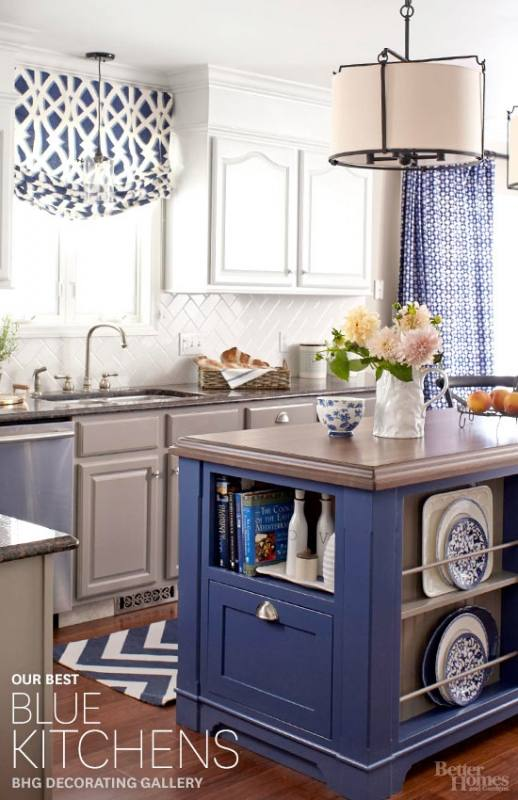 Kitchen Cabinet Blue Kitchen Floor Blue Kitchen Ideas Cabinet