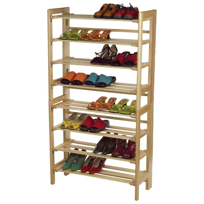 Shoe display ideas for display showcase cabinet (3).