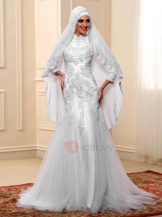 muslim wedding dresses islam lace ball gown muslim wedding dress with  sleeves tidebuycom