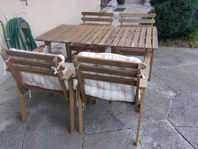 Garden furniture set ZURICH with cushions, table and corner sofa,  aluminum frame with plastic