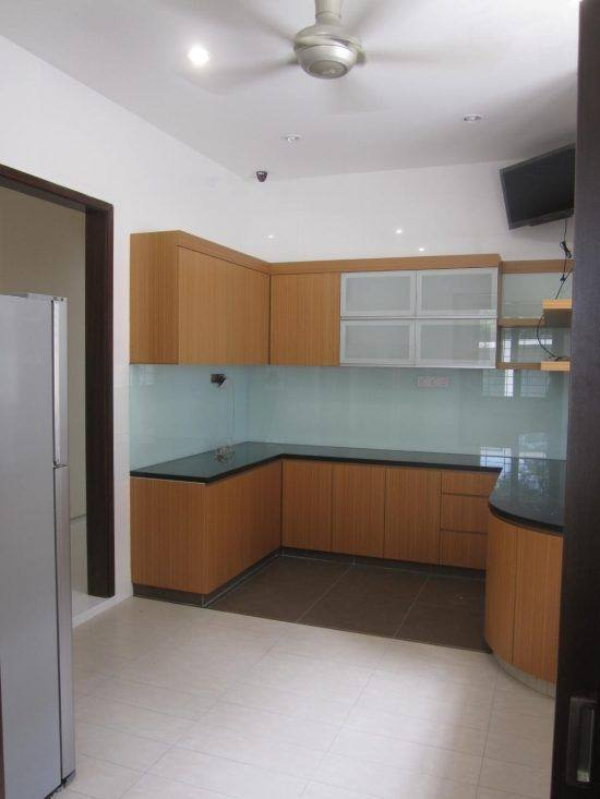 Kitchen design for Terrace house in Ara Damansara