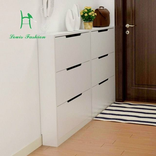 narrow shoe storage slim