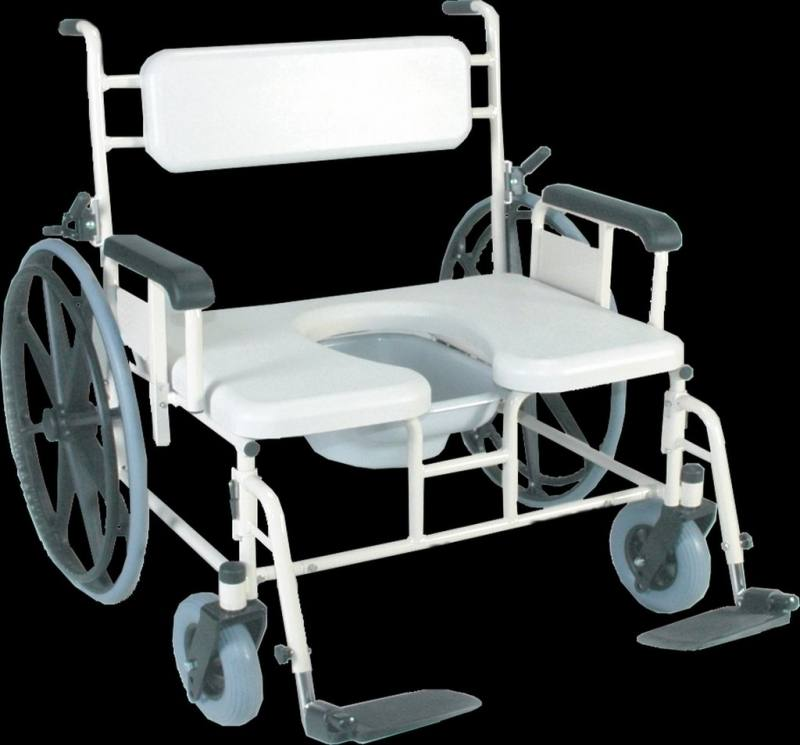 Bariatric Shower Commode Chair Model B385 PRODUCTS With Wheels And Broda  Bari385 12639 Edited 1 On