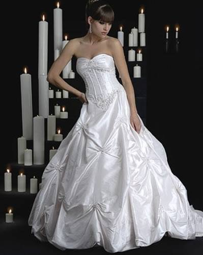 Replace boning in bodice of a wedding gown