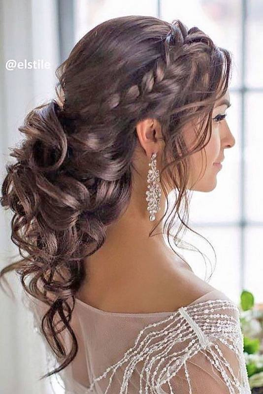 Drop Dead Gorgeous Curly Wedding Updos ~ we ♥ this! moncheribridals