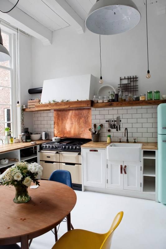 Home Decorating Ideas Vintage Amazing Retro Kitchen