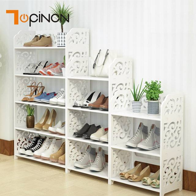 diy shoes shelf creative and practical shoe racks