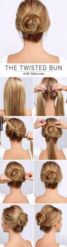 Easy hairstyles for long hair are an important part of our beauty routine on Valentine's Day
