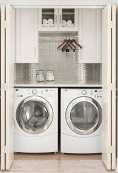 Instead,  clothes hang neatly and are organized tidily–with room for air and energy  and