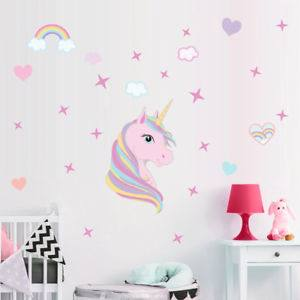 Mini Unicorn Pillow Case Cover Kids Bedroom Decor
