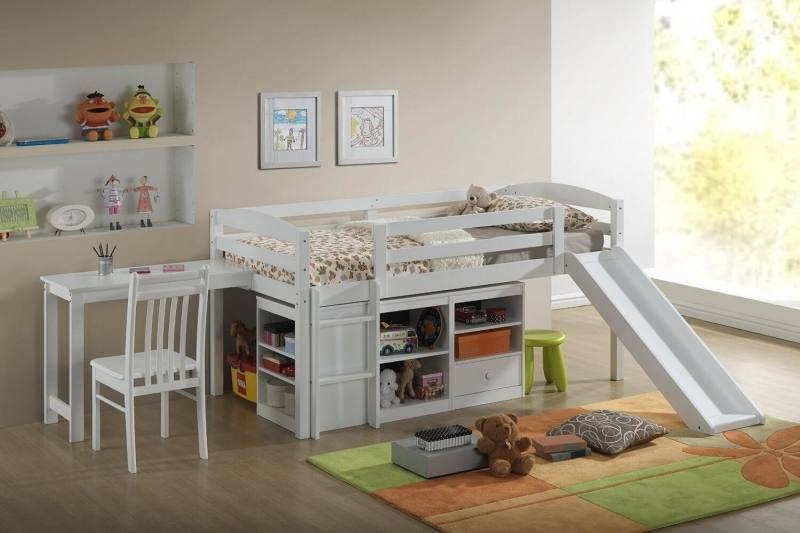 Children S Room With Two Beds