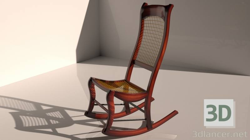 Read the tutorial and download Grandessa Rocking Chair 3ds Max model for  free