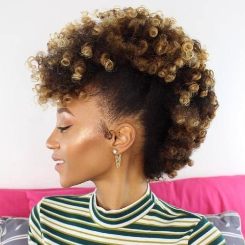 wanna give your hair a new look? Natural black hairstyles is a good choice for you