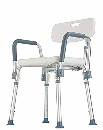 Invacare Mobile Shower Commode Chair Model 6358 Shipped Dissembled 250lbs  Cap