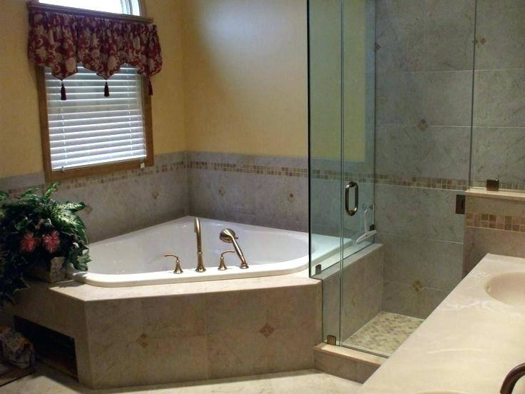best home marvelous corner bathtub shower combo at tub like the idea of new head small