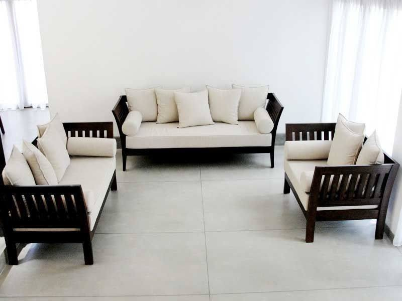 sofa design wooden