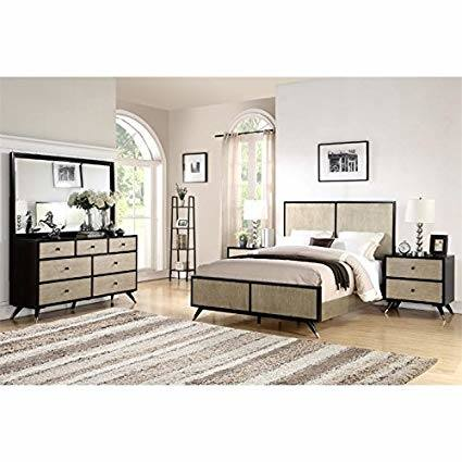 3 piece mid century bedroom set