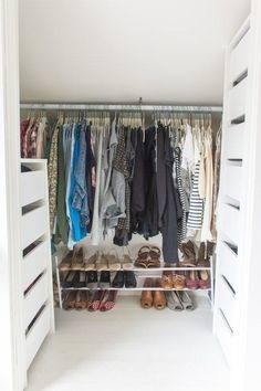 Maximizing your closet space is a