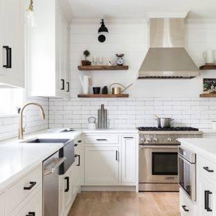 com Light Gray  Walls Kitchen, Grey