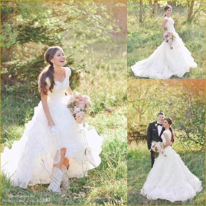 74564e381fb Wedding Dresses With Cowboy Boots