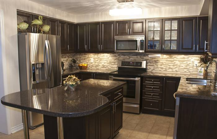 Medium Brown Kitchen Cabinets Awesome Elegant Painted Kitchen Cabinet Ideas All About Kitchen Ideas