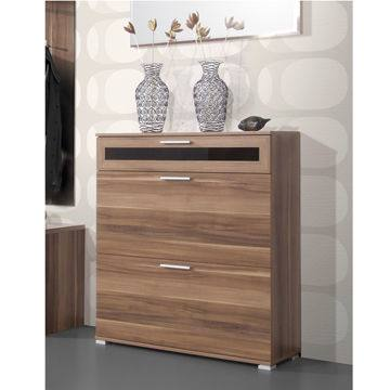 Glenwood Walnut Shoe Cabinet, , large