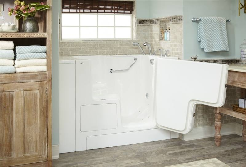 a set of photos showing airconditioners, a plumber and a bath tub.