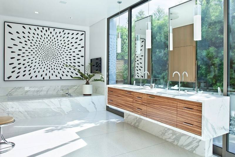 latest bathroom tile trends 2018