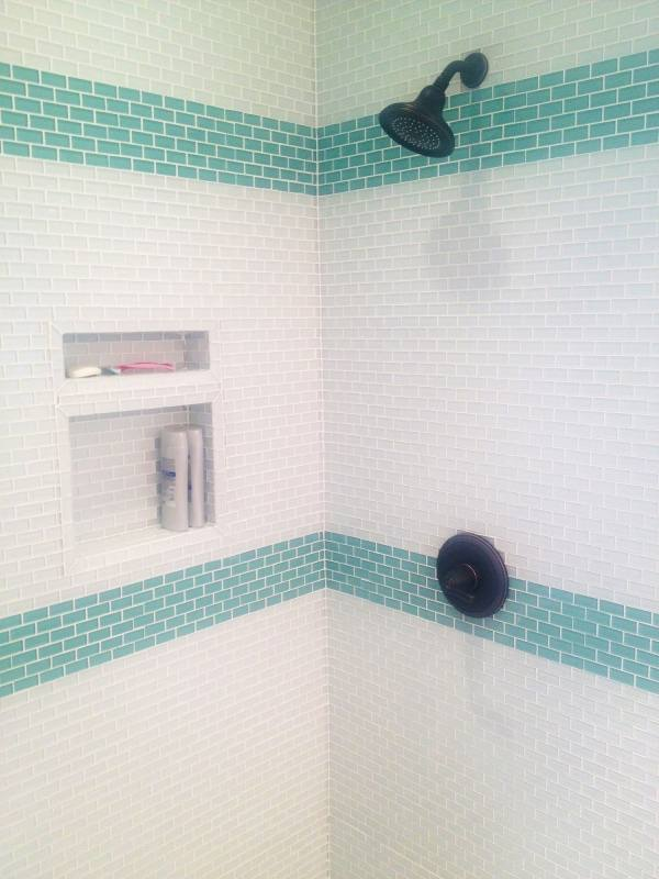 bathroom remodel ideas subway tile southern newlywed the modern farmhouse small white design bathrooms using