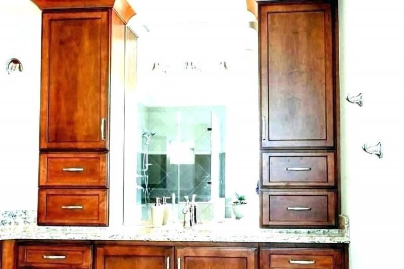 bathroom vanity tower cabinet double vanity linen tower with drawers bathroom double vanity linen tower bathroom