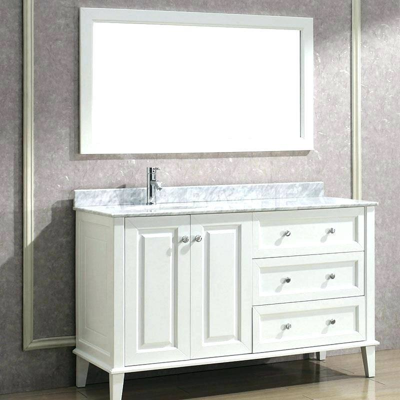 Bathroom Vanity With Sink On Right Side