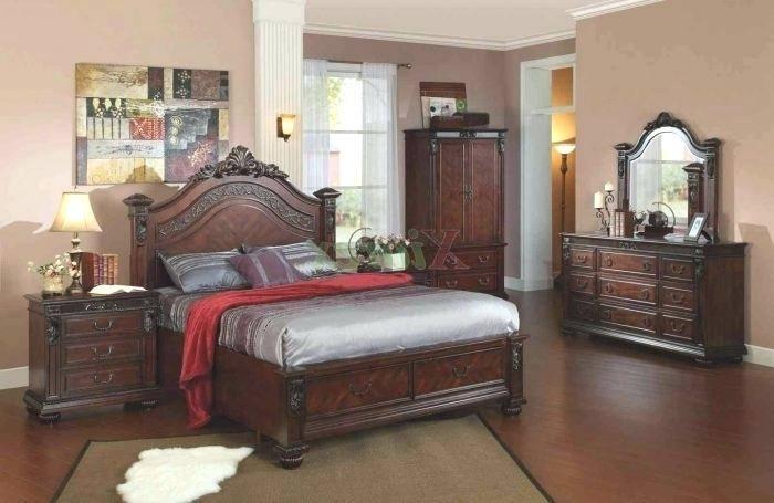 Bedroom Set, Bed, Armoire & Nightstand