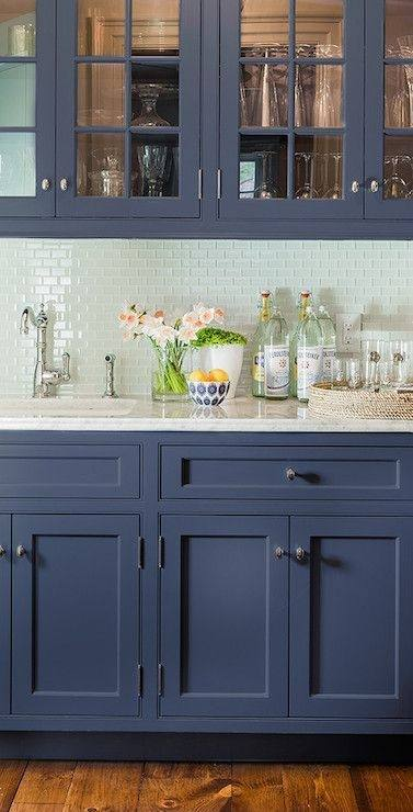If you need more ideas on how to decorate your kitchen in blue, take a look at the following 20 beautiful blue kitchen ideas