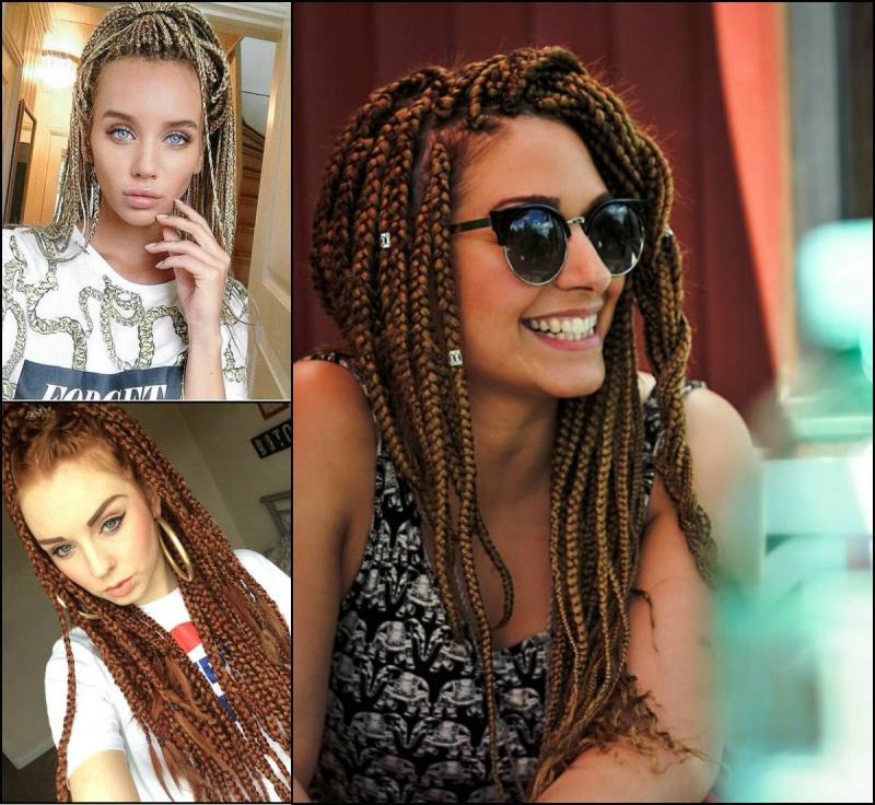 Braids are great for events because they give you an original style