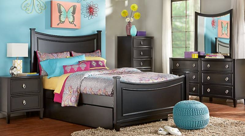 Vestavia Twin Bedroom Set With Chest of Drawers