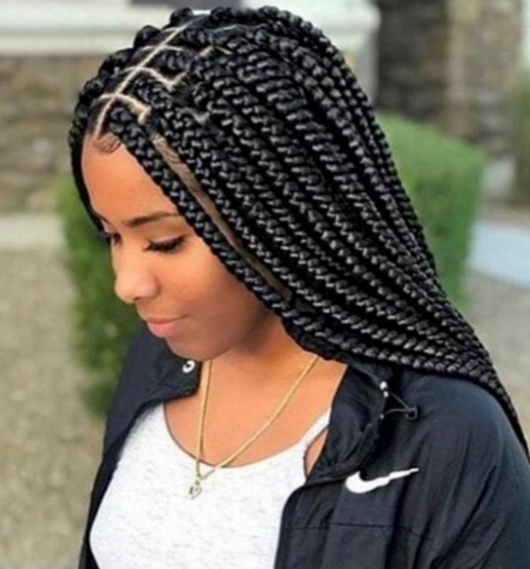 Hello ladies, Here are some beautiful box braids hairstyles to rock and  roll your week