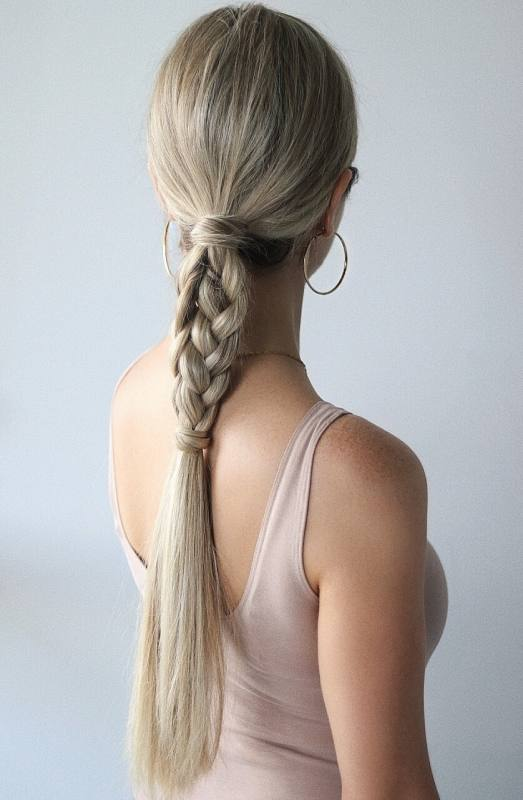 Easy Hairstyles, Braided Ponytail, www