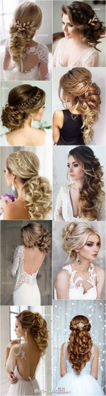 Hairstyle for Long Hair for Wedding