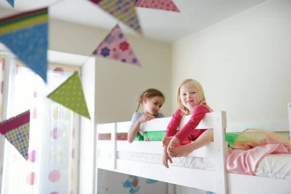 No matter the age or gender, having kids share a bedroom can be challenging