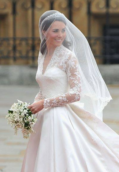 Discount 2016 Lace Wedding Dresses Without Veil Bateau Illusion Long  Sleeves Wedding Dress Sweep Train Back Covered Button Sash Ribbon Bridal  Gowns Bridal