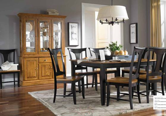canadel table canadel dining table and chairs