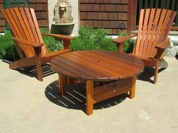 cedar patio furniture