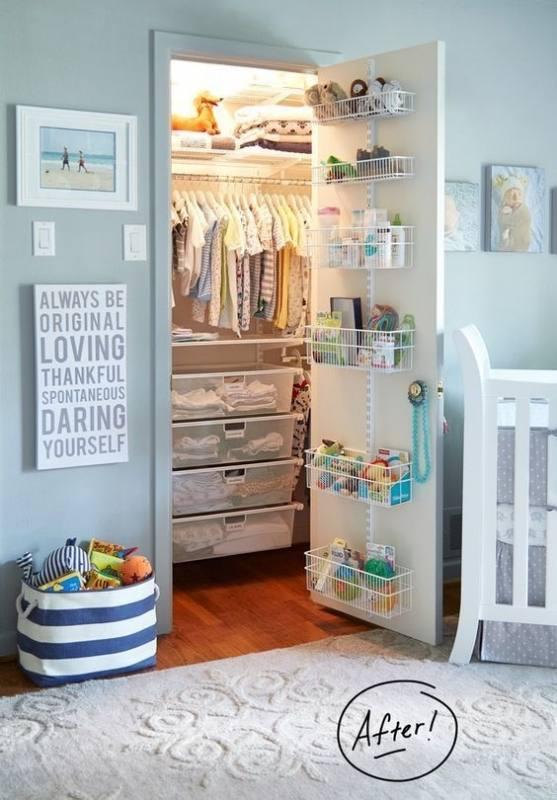 Closet Storage Shelves and Cubes