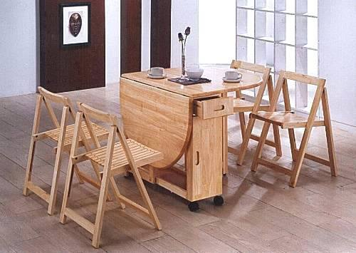 small breakfast table sets