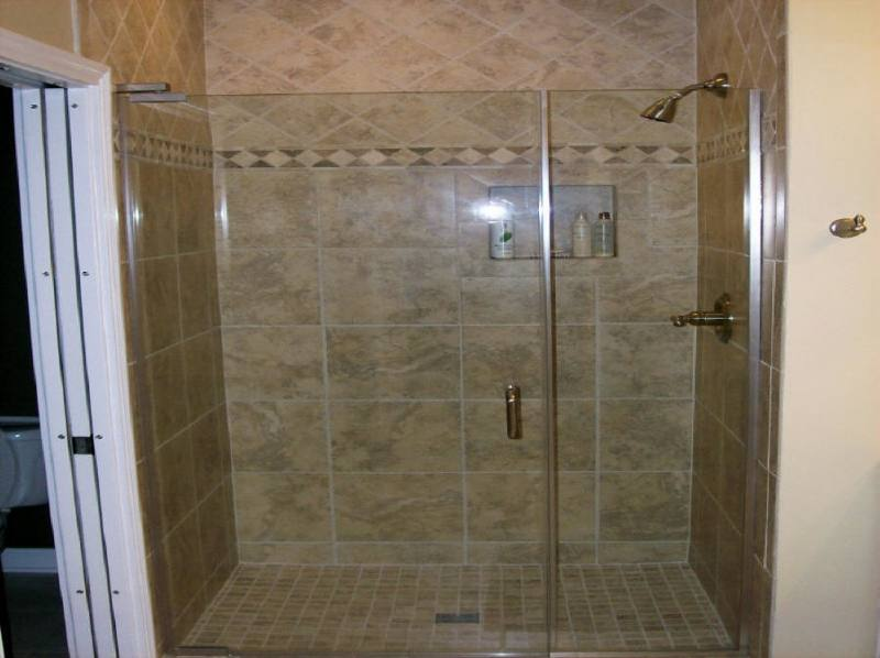 Frameless Sliding Shower Door in